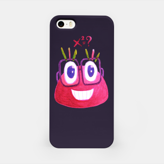 Thumbnail image of Math Candy Cute Geek Character With Glasses iPhone Case, Live Heroes
