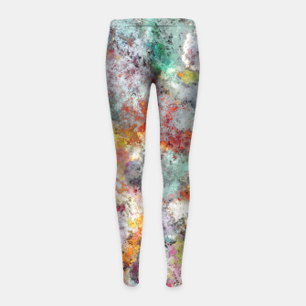 Thumbnail image of Fireflies Girl's leggings, Live Heroes