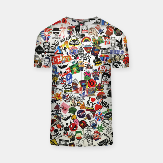 Thumbnail image of Sticker T-Shirt, Live Heroes