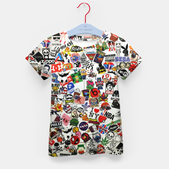 Thumbnail image of Sticker T-Shirt für kinder, Live Heroes