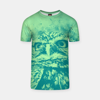 Thumbnail image of owl portrait 5 wstk T-shirt, Live Heroes