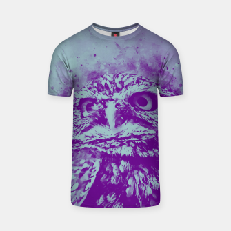 Thumbnail image of owl portrait 5 wspb T-shirt, Live Heroes