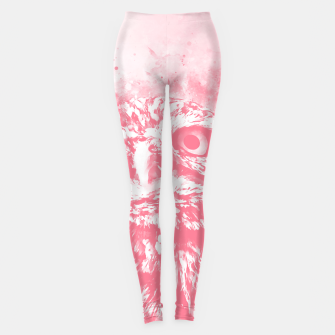 Thumbnail image of owl portrait 5 wspw Leggings, Live Heroes