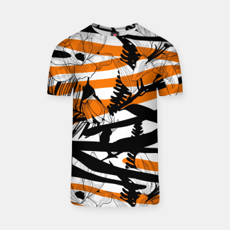 Thumbnail image of Floral Tiger Print T-Shirt, Live Heroes