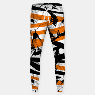 Thumbnail image of Floral Tiger Print Sweatpants, Live Heroes