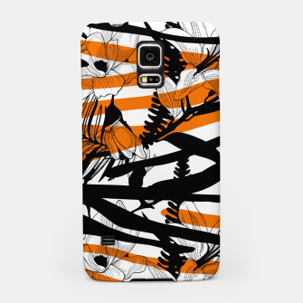 Thumbnail image of Floral Tiger Print Samsung Case, Live Heroes