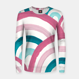 Thumbnail image of Rainbow Dream Pattern #2 (Kids Collection) #decor #art  Frauen sweatshirt, Live Heroes