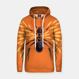 Abstract Winged Ant In Orange Hoodie imagen en miniatura