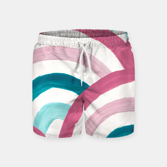 Thumbnail image of Rainbow Dream Pattern #2 (Kids Collection) #decor #art  Badeshorts, Live Heroes