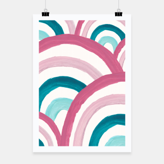 Thumbnail image of Rainbow Dream Pattern #2 (Kids Collection) #decor #art  Plakat, Live Heroes