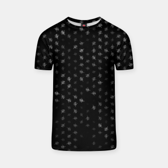 Thumbnail image of leo zodiac sign pattern bw T-shirt, Live Heroes