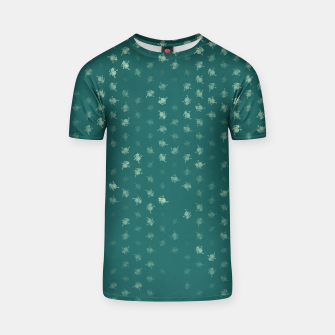 Thumbnail image of leo zodiac sign pattern tw T-shirt, Live Heroes