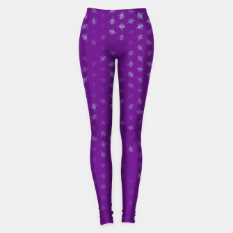 Miniatur leo zodiac sign pattern pt Leggings, Live Heroes