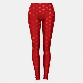 Miniatur leo zodiac sign pattern dr Leggings, Live Heroes