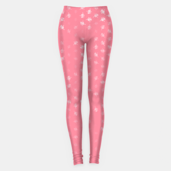 Miniatur leo zodiac sign pattern pw Leggings, Live Heroes