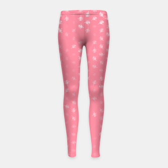 Miniaturka leo zodiac sign pattern pw Girl's leggings, Live Heroes