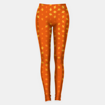Miniatur leo zodiac sign pattern yo Leggings, Live Heroes
