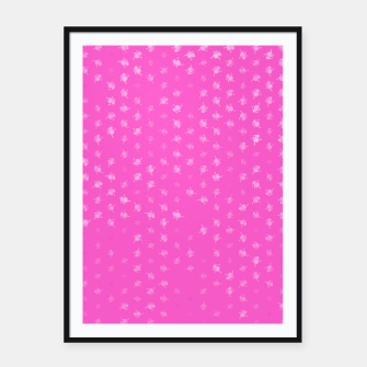 leo zodiac sign pattern mag Framed poster miniature