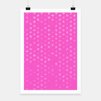 leo zodiac sign pattern mag Poster miniature