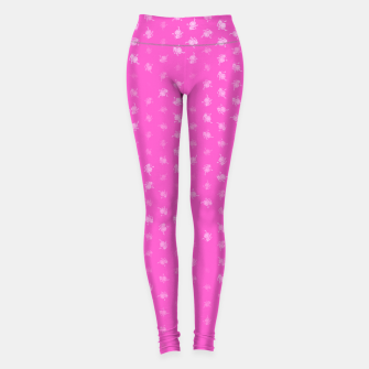 Thumbnail image of leo zodiac sign pattern mag Leggings, Live Heroes