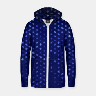 leo zodiac sign pattern std Zip up hoodie thumbnail image