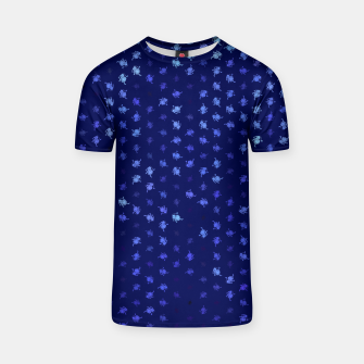 leo zodiac sign pattern std T-shirt thumbnail image