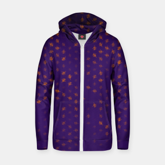Thumbnail image of leo zodiac sign pattern po Zip up hoodie, Live Heroes