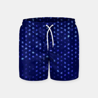 Thumbnail image of leo zodiac sign pattern std Swim Shorts, Live Heroes