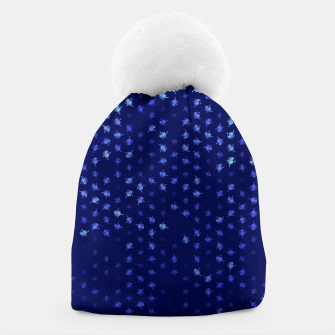 Thumbnail image of leo zodiac sign pattern std Beanie, Live Heroes