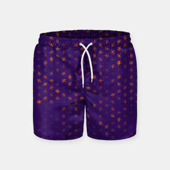 Thumbnail image of leo zodiac sign pattern po Swim Shorts, Live Heroes