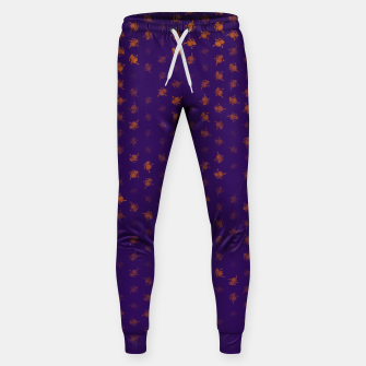 Thumbnail image of leo zodiac sign pattern po Sweatpants, Live Heroes