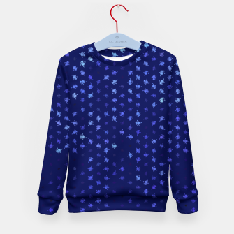 leo zodiac sign pattern std Kid's sweater thumbnail image