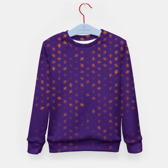 Thumbnail image of leo zodiac sign pattern po Kid's sweater, Live Heroes