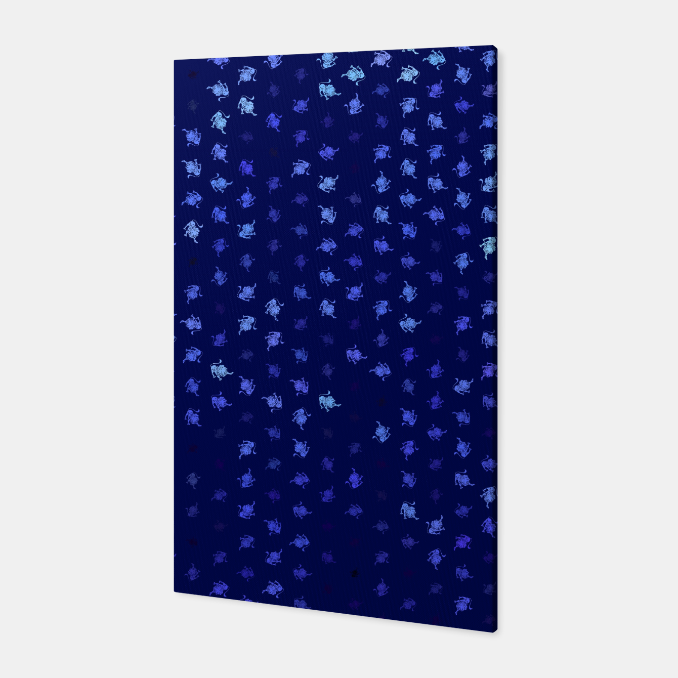 Image of leo zodiac sign pattern std Canvas - Live Heroes