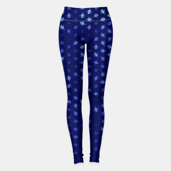 Thumbnail image of leo zodiac sign pattern std Leggings, Live Heroes