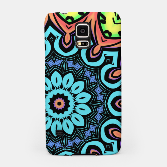 Thumbnail image of Bold Pop Art Mandala Collage Village Set A (011) Samsung Case, Live Heroes