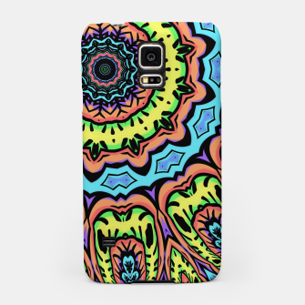 Thumbnail image of Bold Pop Art Mandala Collage Village Set A (015) Samsung Case, Live Heroes