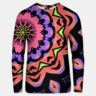Thumbnail image of Bold Pop Art Mandala Collage Village Set A (010) Unisex sweater, Live Heroes