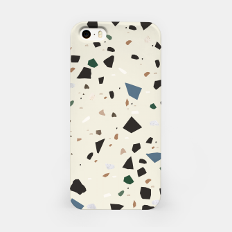 Miniaturka Bluestone Eden Green Black Terrazzo #1 #decor #art  iPhone-Hülle, Live Heroes