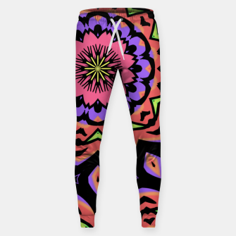 Thumbnail image of Bold Pop Art Mandala Collage Village Set A (010) Sweatpants, Live Heroes