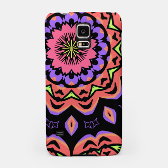 Thumbnail image of Bold Pop Art Mandala Collage Village Set A (010) Samsung Case, Live Heroes