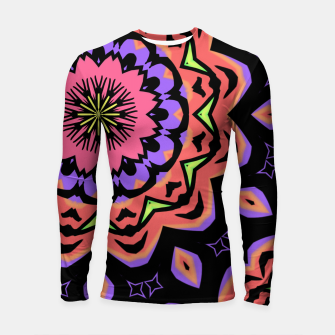 Thumbnail image of Bold Pop Art Mandala Collage Village Set A (010) Longsleeve rashguard , Live Heroes