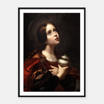 Thumbnail image of Mary Magdalene by Carlo Dolci Framed poster, Live Heroes