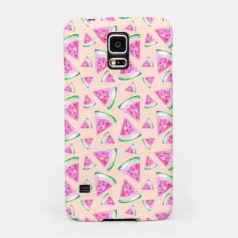 Thumbnail image of Watermelon Pattern Samsung Case, Live Heroes