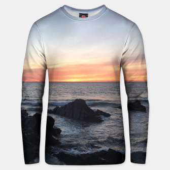 Sunset over Putsborough Unisex sweater thumbnail image