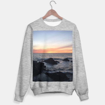 Thumbnail image of Sunset over Putsborough Sweater regular, Live Heroes