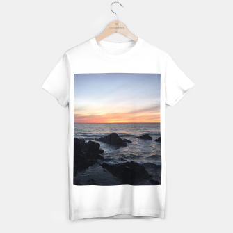 Thumbnail image of Sunset over Putsborough T-shirt regular, Live Heroes