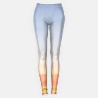 Miniatur Sunset over Putsborough Leggings, Live Heroes