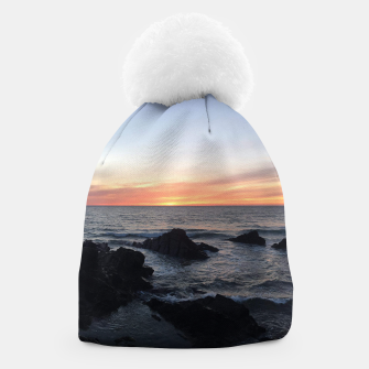 Thumbnail image of Sunset over Putsborough Beanie, Live Heroes