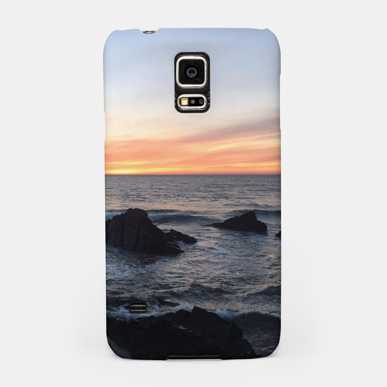 Image of Sunset over Putsborough Samsung Case - Live Heroes